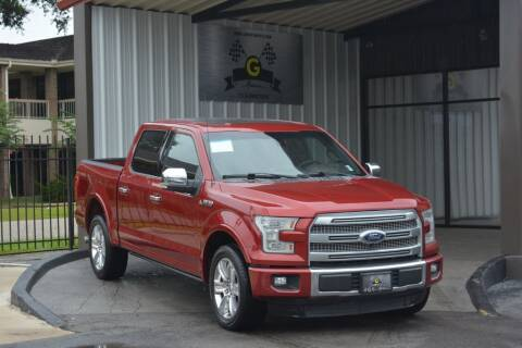 2016 Ford F-150 for sale at G MOTORS in Houston TX