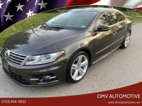 2013 Volkswagen CC for sale at DMV Automotive in Falls Church VA