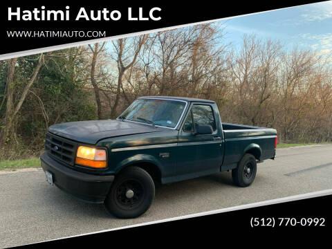 1995 Ford F-150 for sale at Hatimi Auto LLC in Buda TX