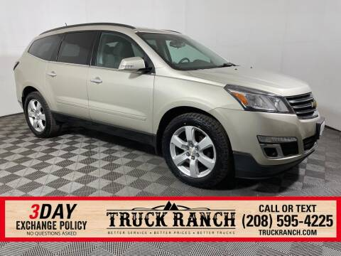2016 Chevrolet Traverse for sale at Truck Ranch in Twin Falls ID