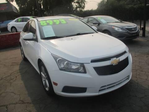 2014 Chevrolet Cruze for sale at Quick Auto Sales in Modesto CA