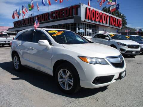 2015 Acura RDX for sale at Giant Auto Mart 2 in Houston TX