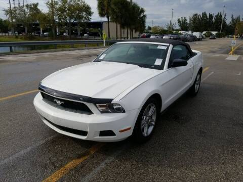 2010 Ford Mustang for sale at Best Auto Deal N Drive in Hollywood FL