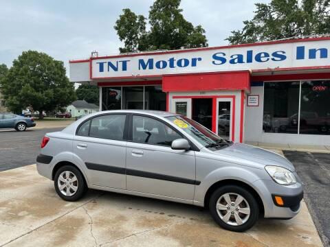 2009 Kia Rio for sale at TNT Motor Sales in Oregon IL