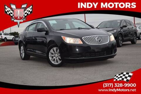 2010 Buick LaCrosse for sale at Indy Motors Inc in Indianapolis IN