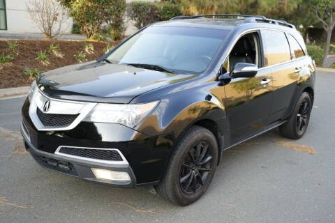 2013 Acura MDX for sale at Sports Plus Motor Group LLC in Sunnyvale CA