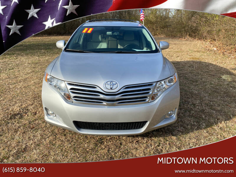 2011 Toyota Venza for sale at Midtown Motors in Greenbrier TN