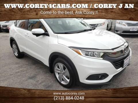 2019 Honda HR-V for sale at WWW.COREY4CARS.COM / COREY J AN in Los Angeles CA