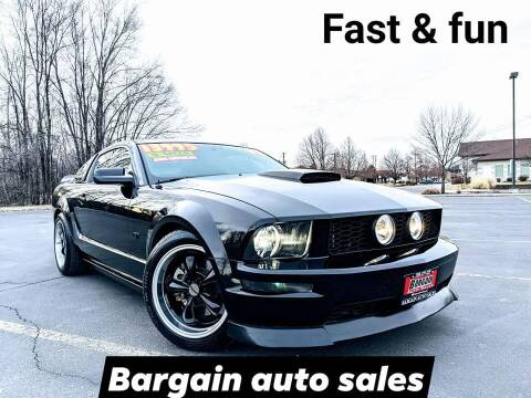2008 Ford Mustang for sale at Bargain Auto Sales LLC in Garden City ID