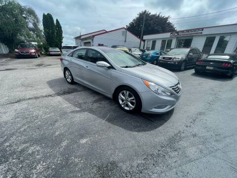 2012 Hyundai Sonata for sale at LAUER BROTHERS AUTO SALES in Dover PA