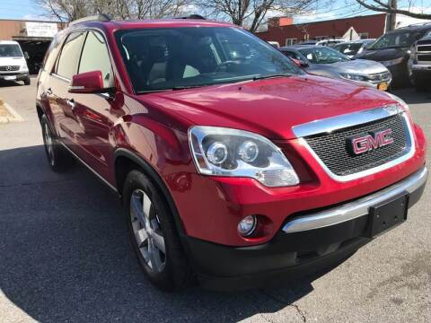 2012 GMC Acadia for sale at Auto King Picture Cars in Westchester County NY