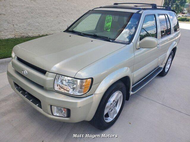 2001 Infiniti QX4 for sale at Matt Hagen Motors in Newport NC