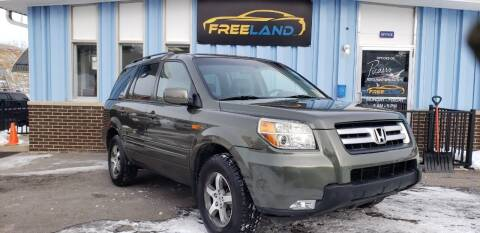 2006 Honda Pilot for sale at Freeland LLC in Waukesha WI