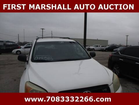 2008 Toyota RAV4 for sale at First Marshall Auto Auction in Harvey IL