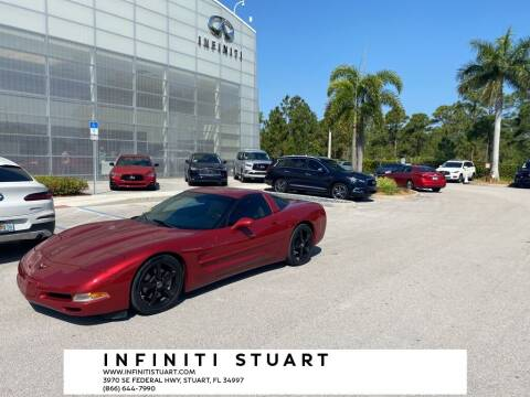 1999 Chevrolet Corvette for sale at Infiniti Stuart in Stuart FL