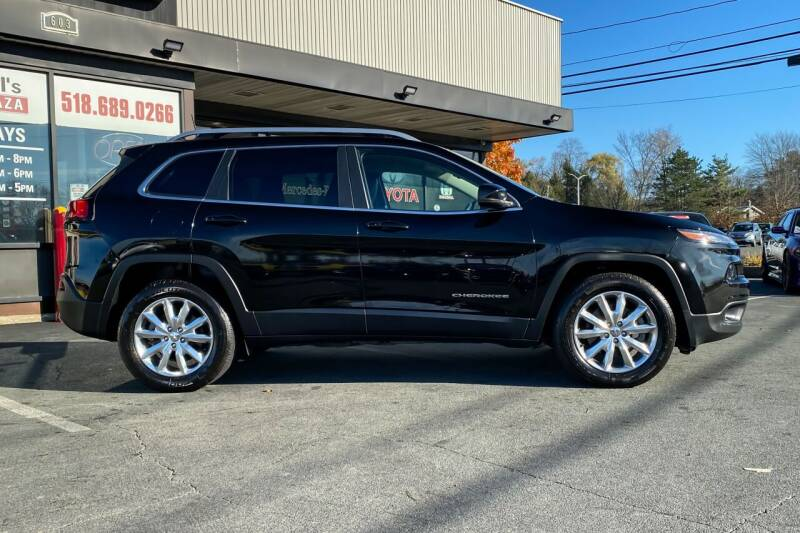 2017 Jeep Cherokee 4x4 Limited 4dr SUV - East Greenbush NY