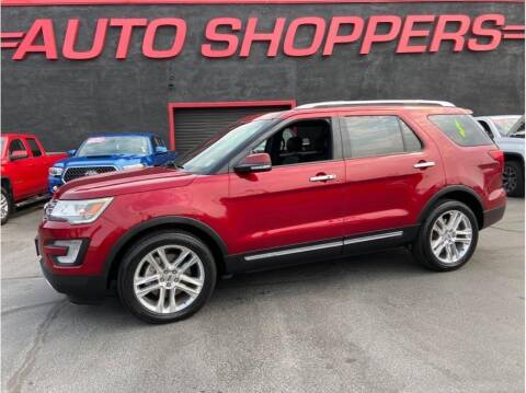 2017 Ford Explorer for sale at AUTO SHOPPERS LLC in Yakima WA