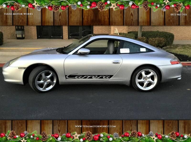 2004 Porsche 911 for sale at TEXAS MOTOR WORKS in Arlington TX