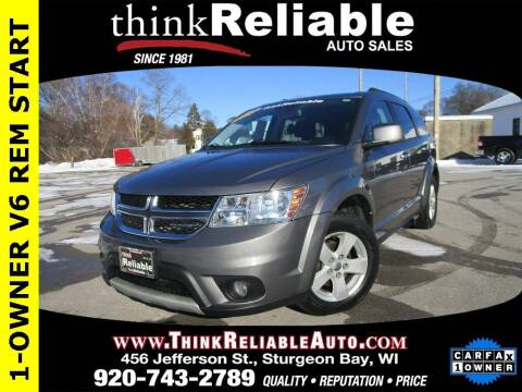 2012 Dodge Journey for sale at RELIABLE AUTOMOBILE SALES, INC in Sturgeon Bay WI