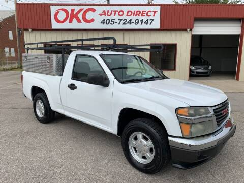 2006 GMC Canyon for sale at OKC Auto Direct in Oklahoma City OK