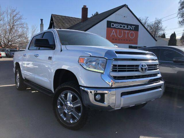 2015 Toyota Tundra for sale at Discount Auto Brokers Inc. in Lehi UT