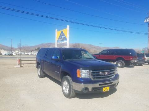 2013 GMC Sierra 1500 for sale at Auto Depot in Carson City NV