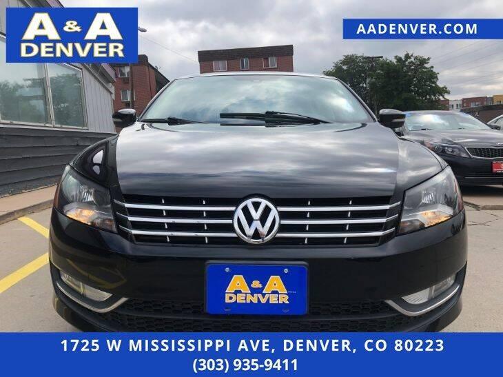 2014 Volkswagen Passat 2.0L TDI SEL Premium 4dr Sedan 6A - Denver CO