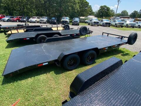 2021 HD Flatbed Car Hauler Trailer for sale at TINKER MOTOR COMPANY in Indianola OK