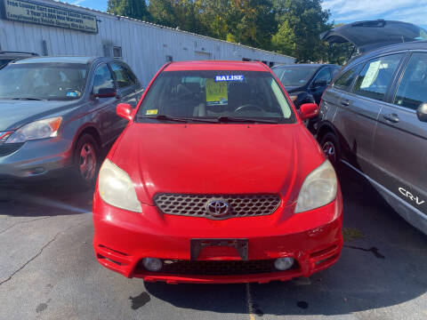 2004 Toyota Matrix for sale at Whiting Motors in Plainville CT