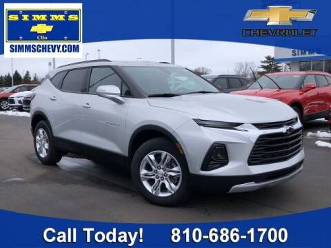 2021 Chevrolet Blazer for sale at Aaron Adams @ Simms Chevrolet in Clio MI
