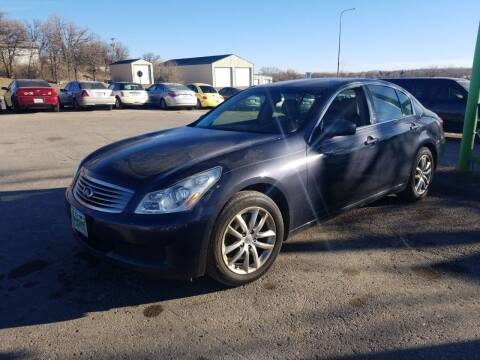 2007 Infiniti G35 for sale at Independent Auto in Belle Fourche SD