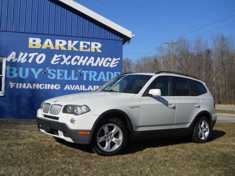 2007 BMW X3 for sale at BARKER AUTO EXCHANGE in Spencer IN