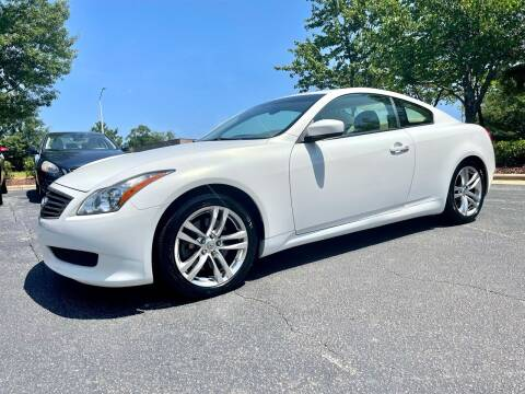 2009 Infiniti G37 Coupe for sale at Weaver Motorsports Inc in Cary NC