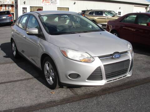 2013 Ford Focus for sale at Pete's Bridge Street Motors in New Cumberland PA