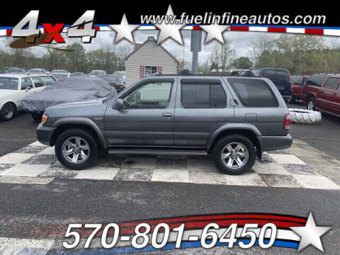 2004 Nissan Pathfinder for sale at FUELIN FINE AUTO SALES INC in Saylorsburg PA