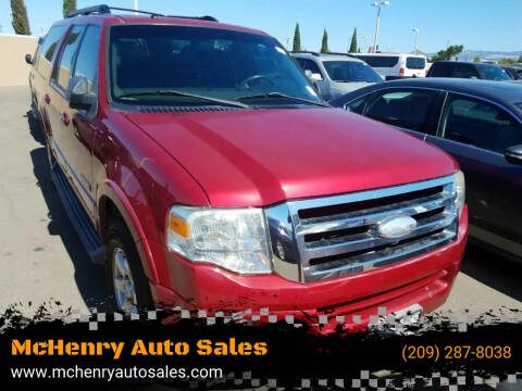 2008 Ford Expedition EL for sale at McHenry Auto Sales in Modesto CA