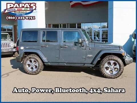 2016 Jeep Wrangler Unlimited for sale at Papas Chrysler Dodge Jeep Ram in New Britain CT