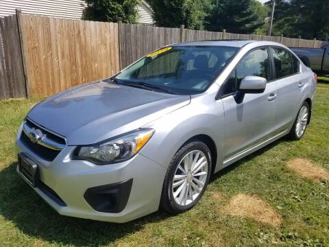 2014 Subaru Impreza for sale at ALL Motor Cars LTD in Tillson NY