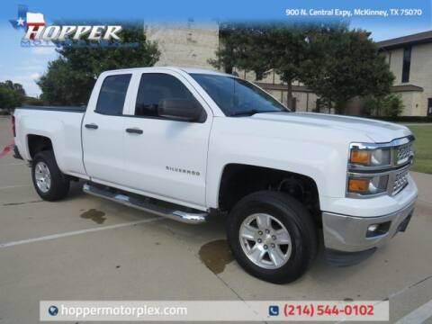 2014 Chevrolet Silverado 1500 for sale at HOPPER MOTORPLEX in Mckinney TX