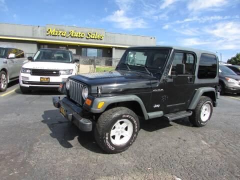 2002 Jeep Wrangler for sale at MIRA AUTO SALES in Cincinnati OH