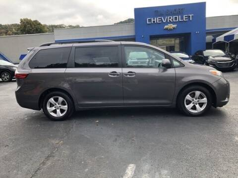 2017 Toyota Sienna for sale at Tim Short Auto Mall in Corbin KY