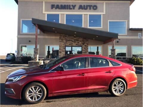 2015 Hyundai Sonata for sale at Moses Lake Family Auto Center in Moses Lake WA