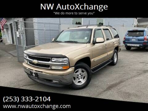 2005 Chevrolet Tahoe for sale at NW AutoXchange in Auburn WA