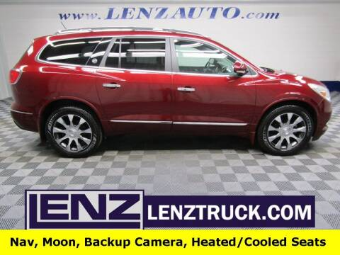 2017 Buick Enclave for sale at LENZ TRUCK CENTER in Fond Du Lac WI