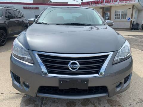 2015 Nissan Sentra for sale at Minuteman Auto Sales in Saint Paul MN