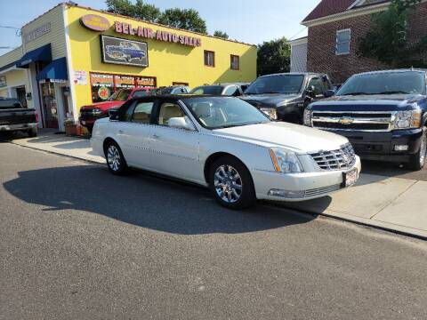 2011 Cadillac DTS for sale at Bel Air Auto Sales in Milford CT