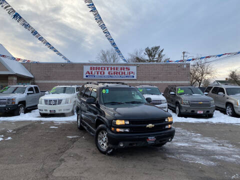 2003 Chevrolet Tahoe for sale at Brothers Auto Group in Youngstown OH