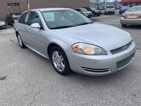 2013 Chevrolet Impala for sale at Honest Abe Auto Sales 2 in Indianapolis IN
