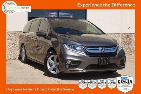 2019 Honda Odyssey for sale at Dallas Auto Finance in Dallas TX