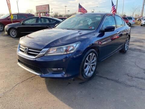 2014 Honda Accord for sale at Rayyan Auto Sales LLC in Lexington KY
